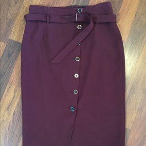 Fabulous Long WHBM Pencil Skirt